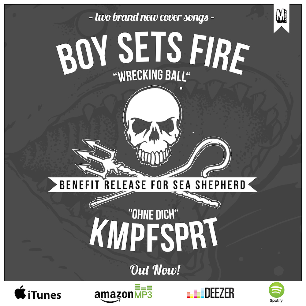 Kmpfsprt – Sea Shepherd Benefiz Single