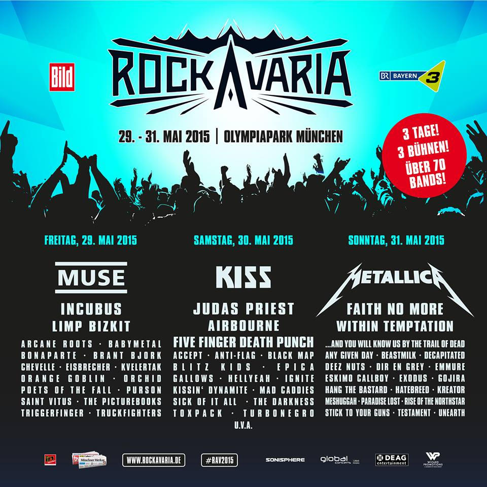 rockavaria lineup